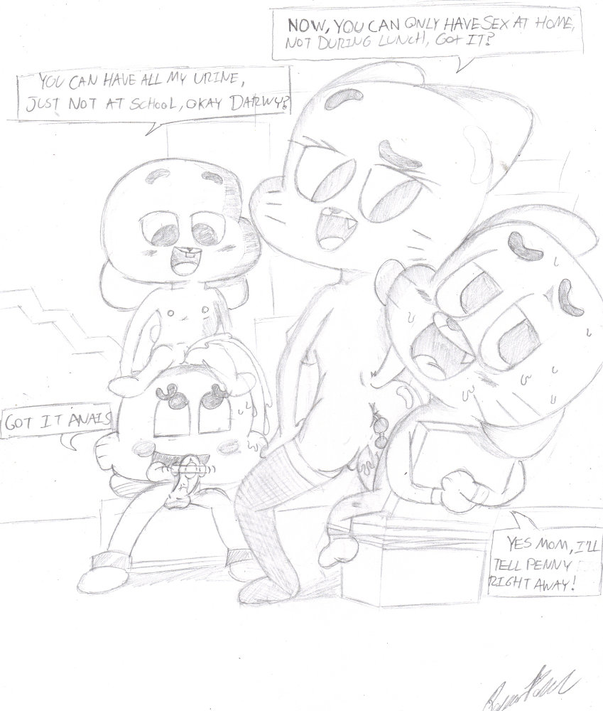 world amazing of gumball vore Princess whats-her-name
