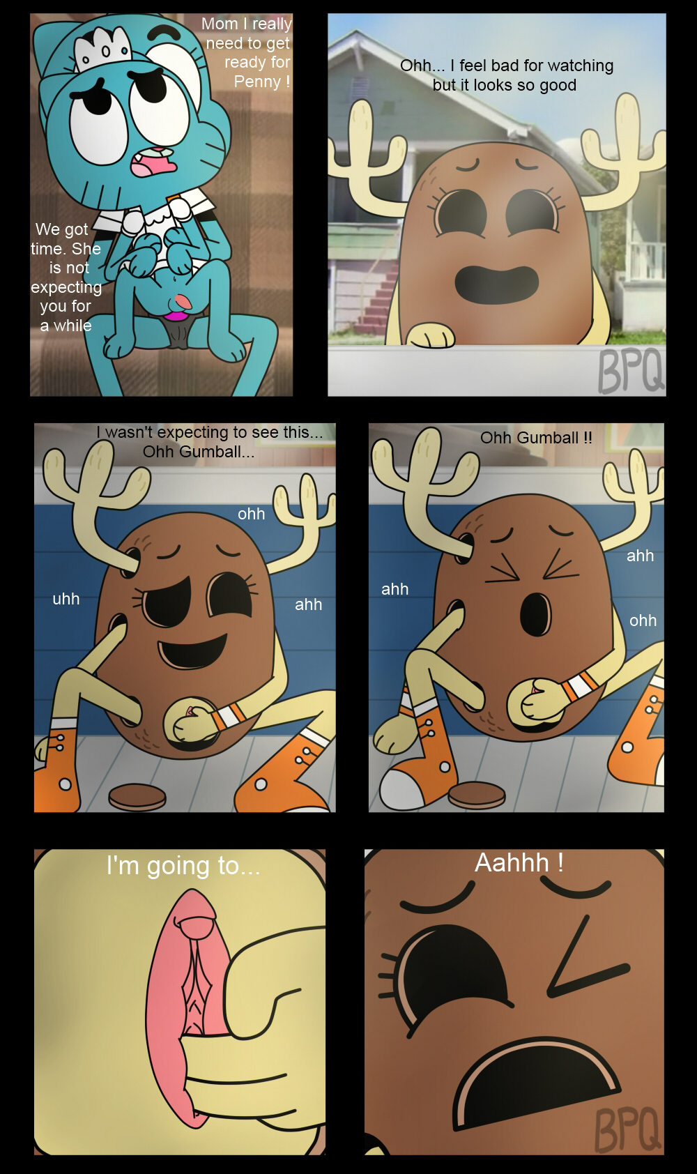 gumball without the penny amazing of shell world Dekakute ecchi na ore no ane