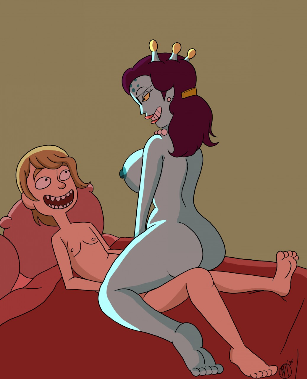 nude morty jessica and rick Dust an elysian tail fanfiction