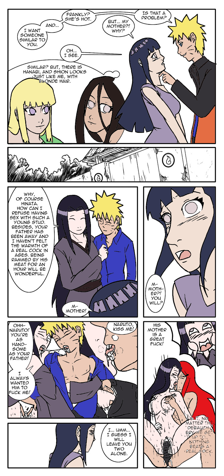 is mother fanfiction naruto fem a 2 guys 1 girl anal