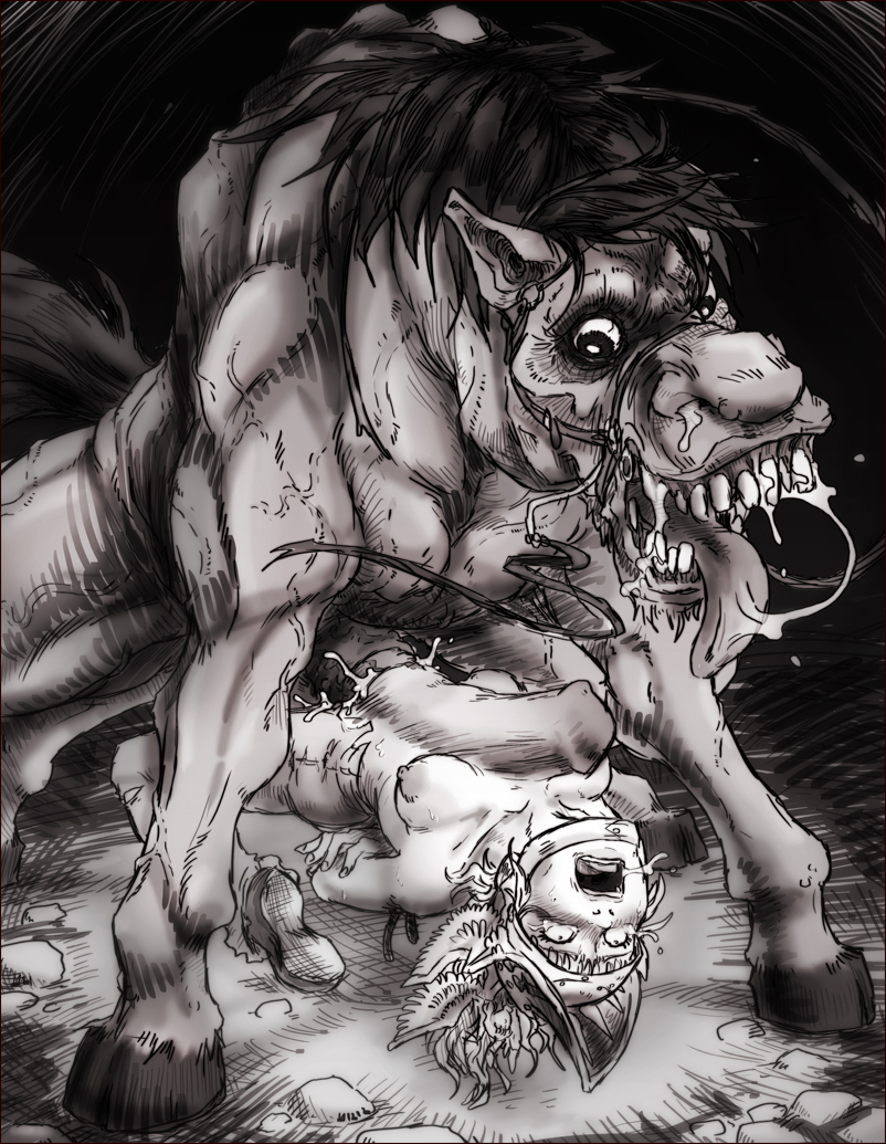 off horse asshole, eat fall your shit Sonic the werehog vs shadow the werehog