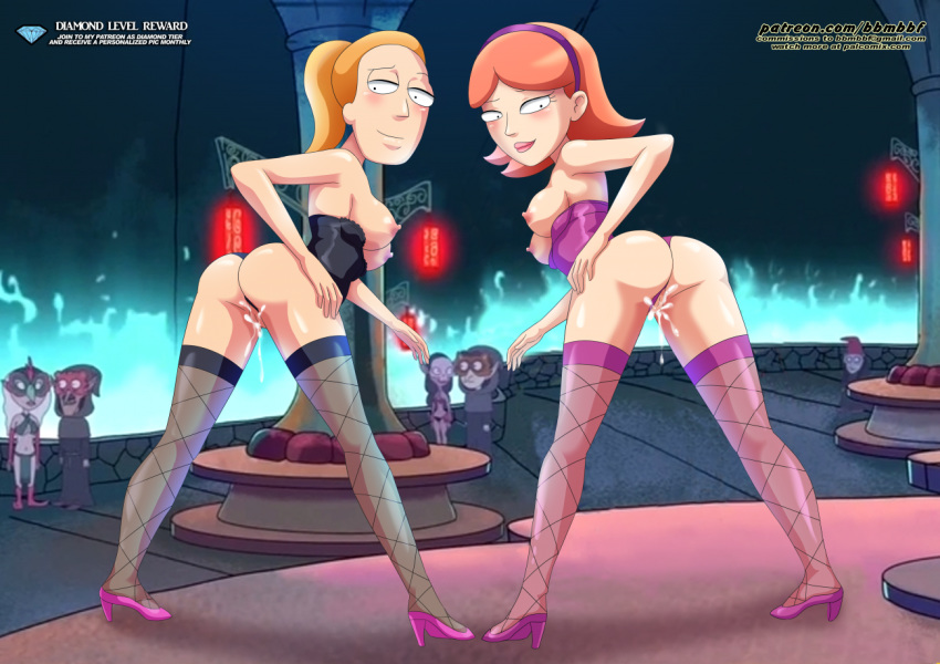 morty jessica and rick naked Anime five nights at freddy's game