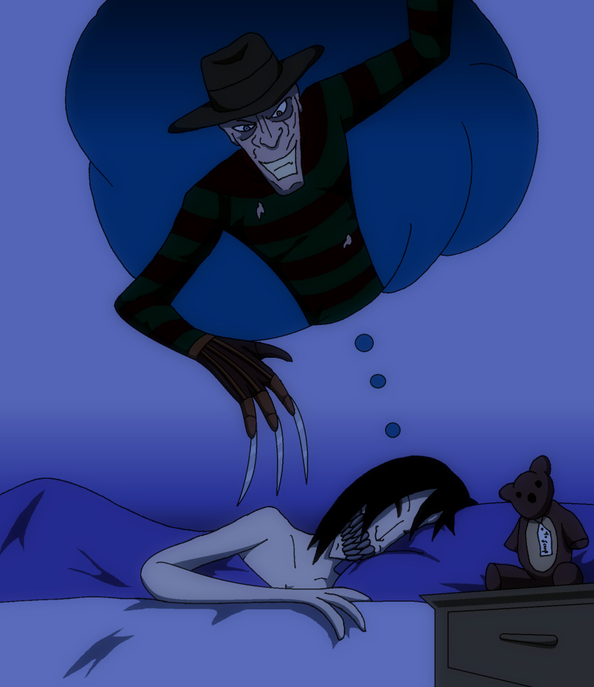 nightmare elm on street xxx What if adventure time was a 3d anime naked