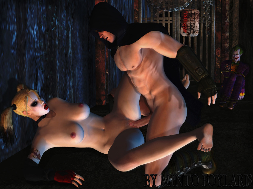 arkham quinn city nude harley How tall is a hunter in halo